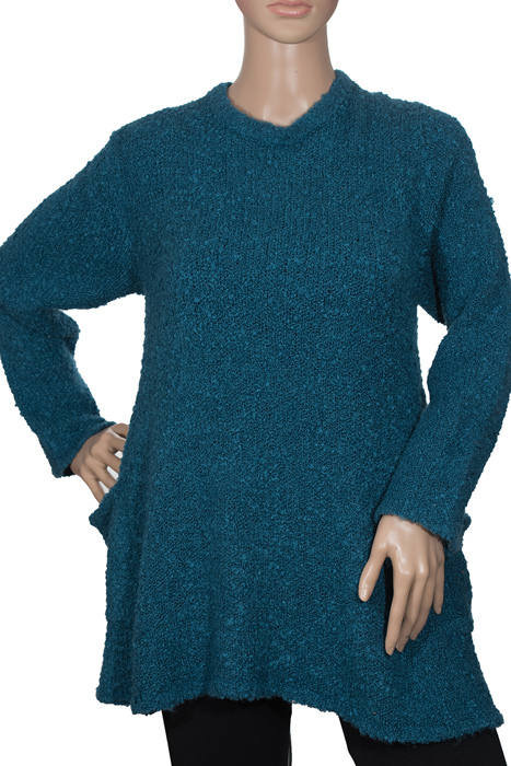 Boucle Pullover with Pockets - SAS