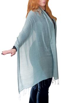 Image Silk Blend Scarves/Shawls