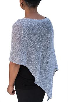 Image Tissue Knit Sheer Cardigans, Ponchos & Vests