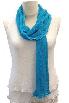 Image Ruffled Knit Scarf