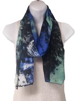 Image Tie dye blue/black