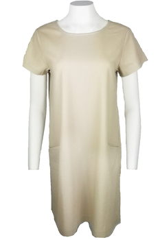 Image Linen Blend Dress - VC