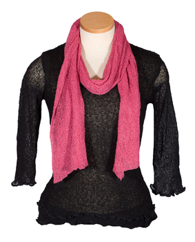 Image Tissue Knit Scarves - QA