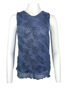 Image Tissue Knit Sleeveless Top - QS