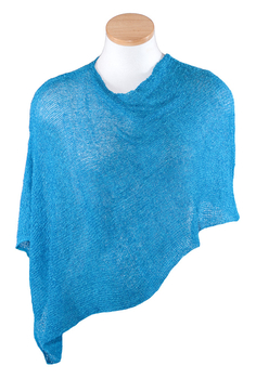 Image Tissue Knit Poncho - RUD