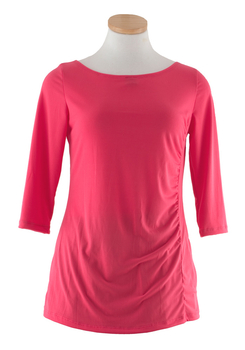 Image Ruched tunic top - VEE