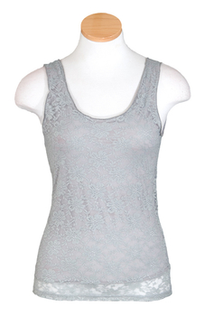 Image Lace Top - Sleeveless - VFA