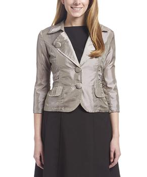 Image Taffeta 3/4 Sleeve Jacket - VAA