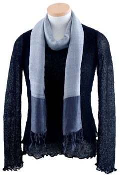 Image Silk/Linen Wide Stripe -VSH