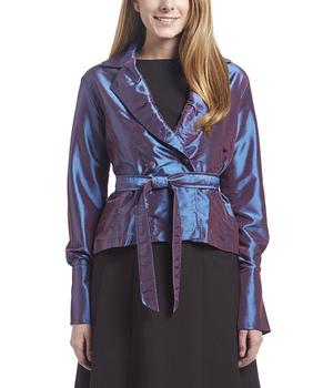 Image Taffeta Tie Jacket - VAT