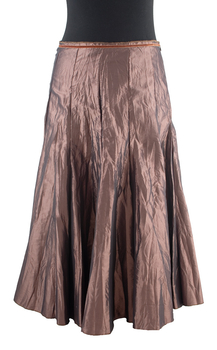 Image Taffeta Gored Full Skirt - VXN