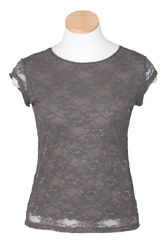 Image Lace Top - Short Sleeve - VFC