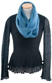Image Silk/Linen Infinity Scarves - VSF