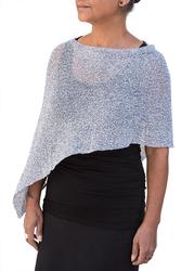 Image Tissue Knit Poncho - RUD